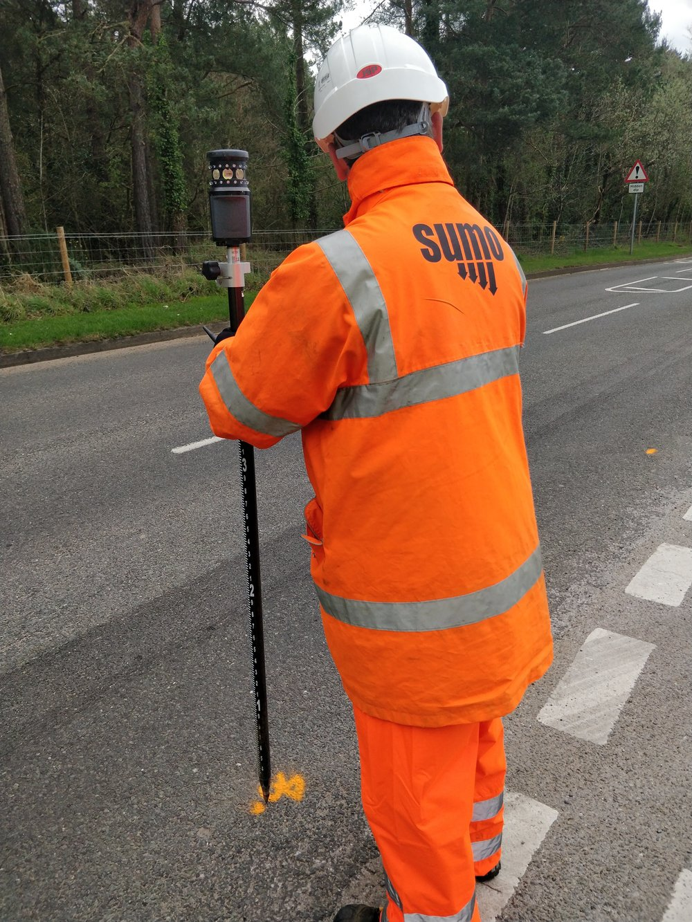 Topographic survey work can be intergrated easily into the SUMO Survey