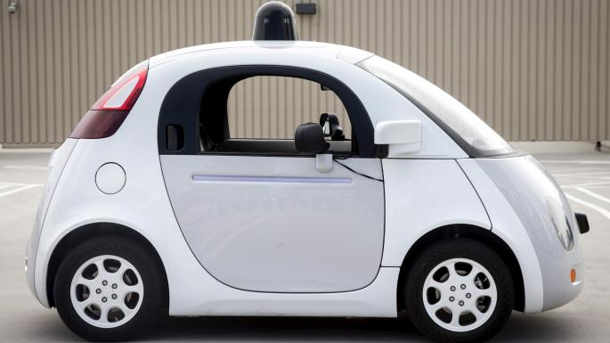 The Google Self-Drive car.