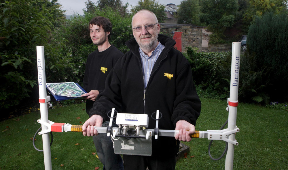 Dr John Gater, Director of Archaeology at SUMO Geophysics.