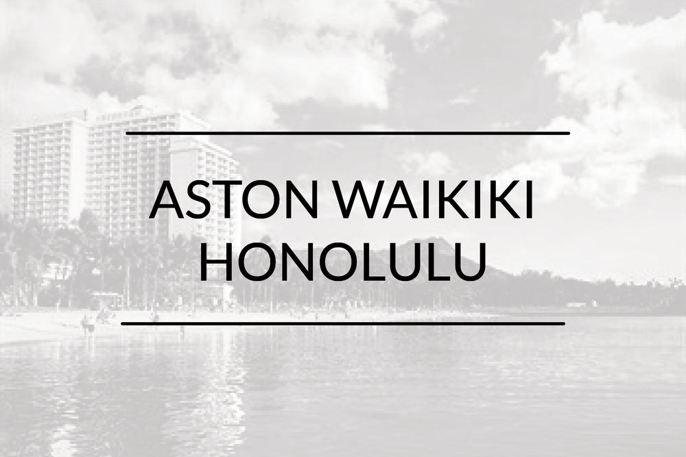 Aston Waikiki