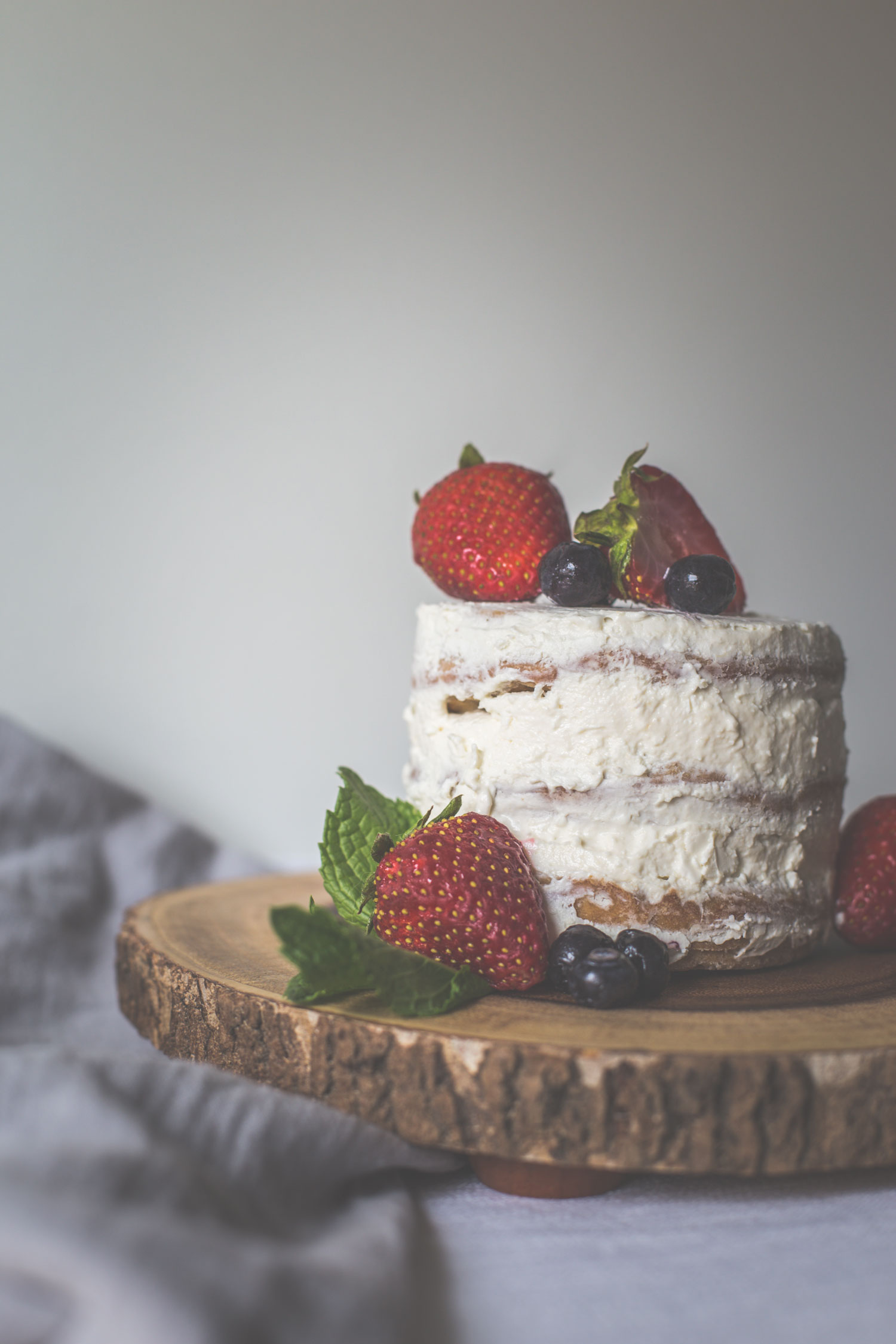 Almost Naked Cake for Dogs