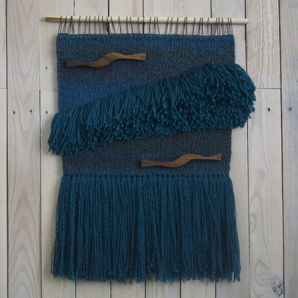 teal & walnut handwoven wall hanging.jpg