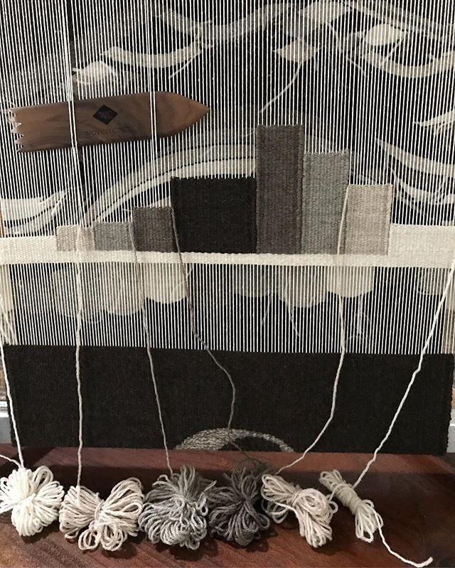 〰️〰️〰️ . . . . #wip #tools #behindthescenes #creative #creativelife #weaving #highlandwool #peruvianwool #wool #handwoven #textiles #handmade #loom #mirrix #mirrixlooms #mirrixmade #thewovencraft #weavingnewjersey #neutrals #weavingtools #tejido #hechoamano #neutralshades #telar #lana