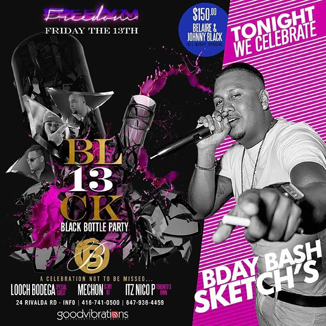 Tomorrow we celebrate the birthday of @sketch__21 at @lasbrisasclub!!!!! @mechonismydj @itznicop and special guest Looch Bodega! Special light show powered by GoodVibrations @djnickydee #lasbrisasdelmar