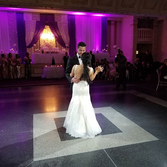 Congratulations Grace & James on your special night! DJ Graziano ready to get the party started tonight at @paradisebanquethall @grazsimone