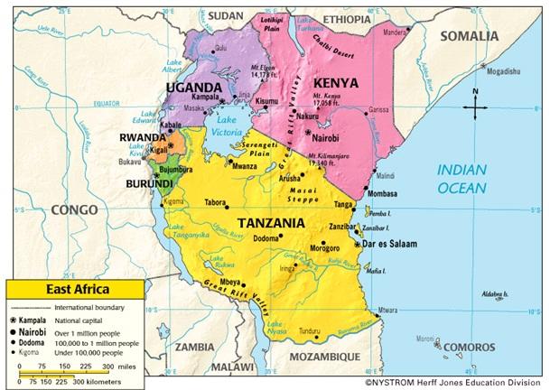 Burundian refugees are fleeing to Tanzania, Rwanda, Uganda, and the DRC.