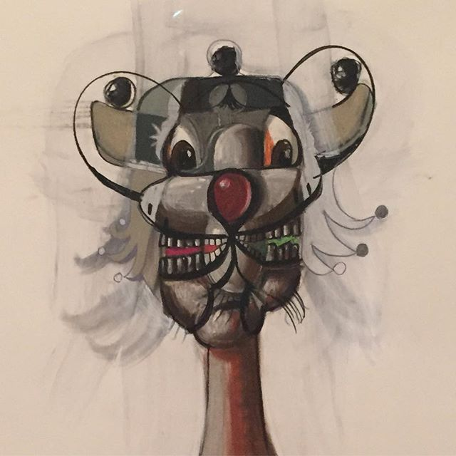 Loved the George Condo works at the Tate earlier. Well worth the trip.... #georgecondo #tatemodern