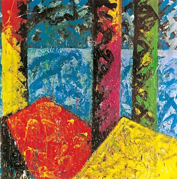 Konstruktive Elemente 10 (Die Ruinen von Neros goldenem Haus 1), 1982