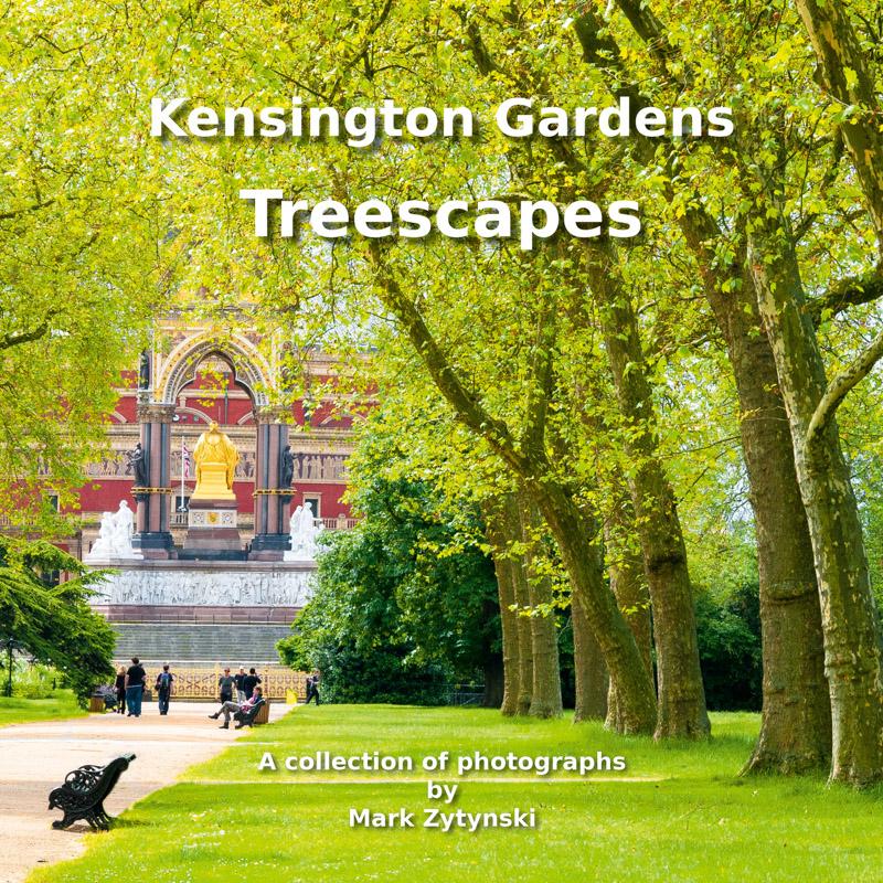 Photo book Kensington Gardens Treescape