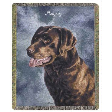 Personalized Pet Throws