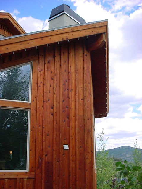 House Siding Semi-solid/translucent stain