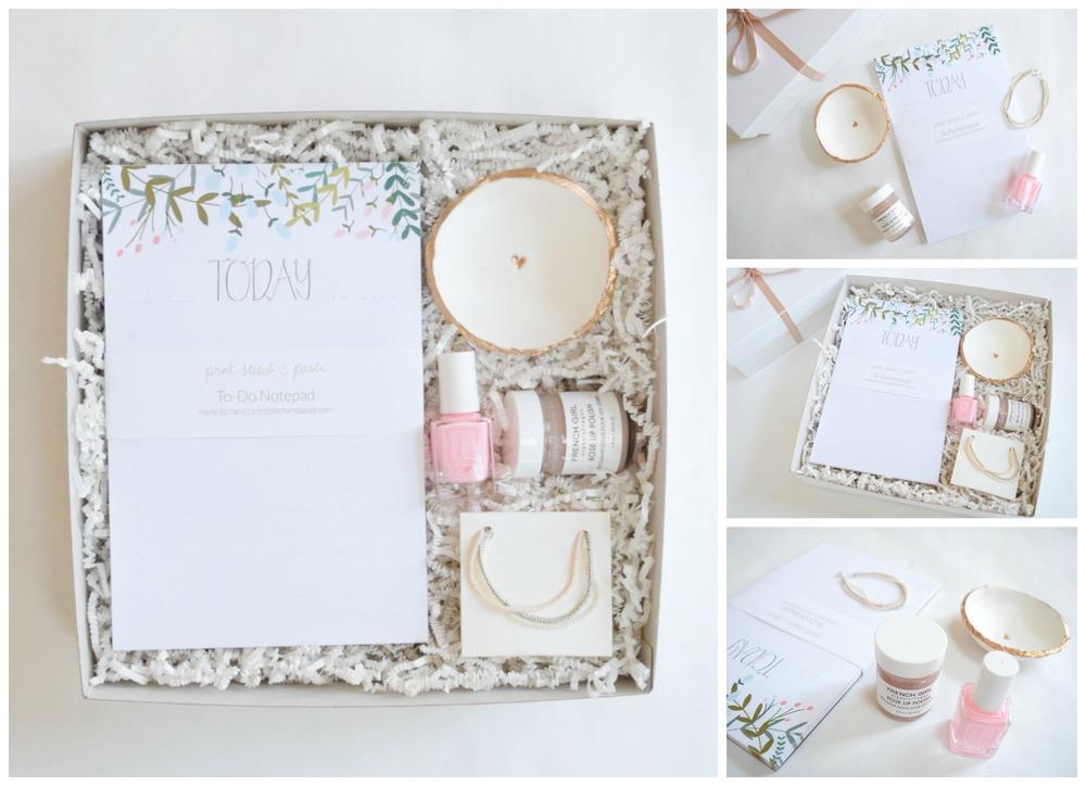 Aster Market Blush Gift Box