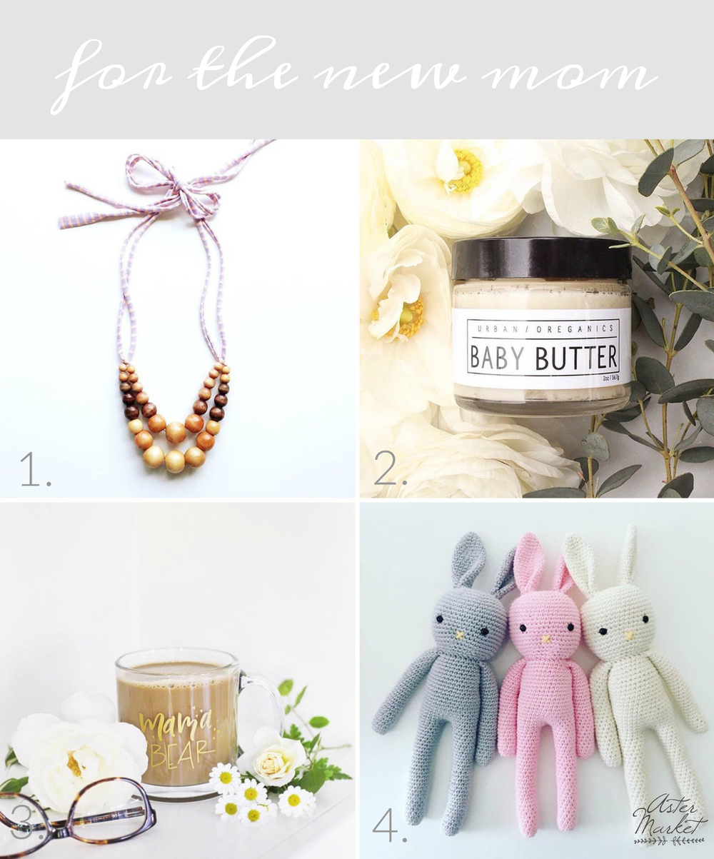 Aster Market Faves - For the New Mom
