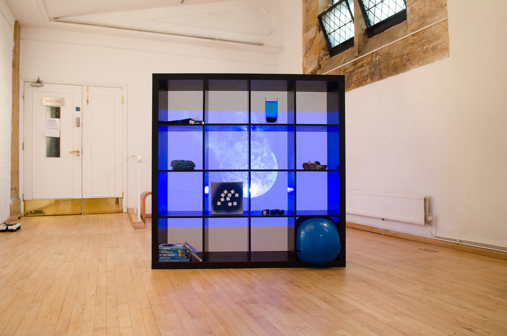 'Gradient Blues' Installation View