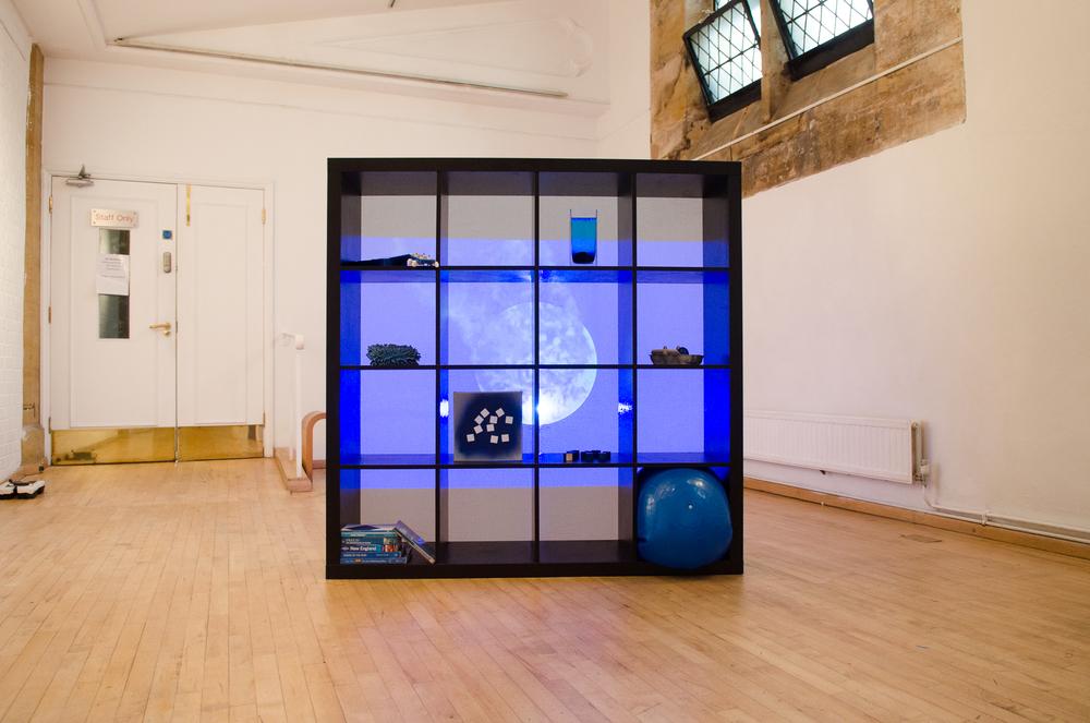 'Gradient Blues' Installation View