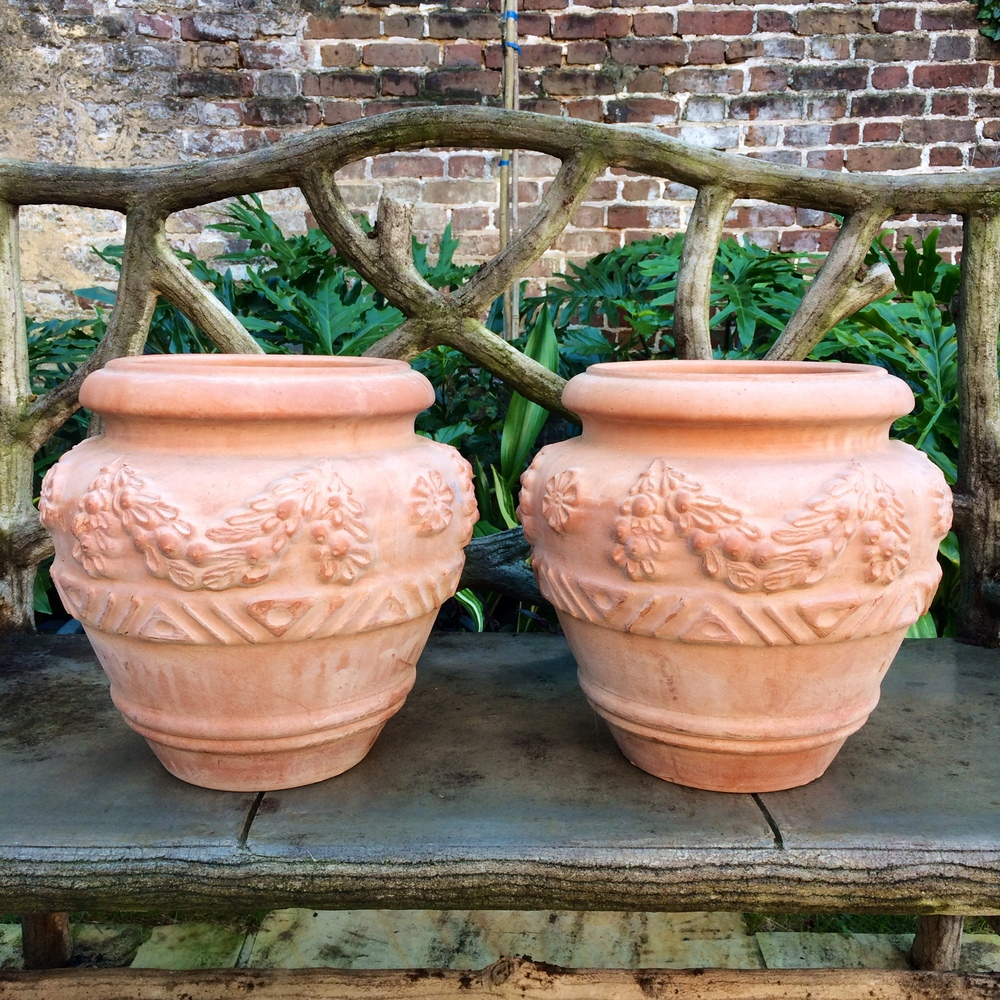 Perfect Bitossi Italian Terra Cotta Pots 1_Charleston Garden Works.