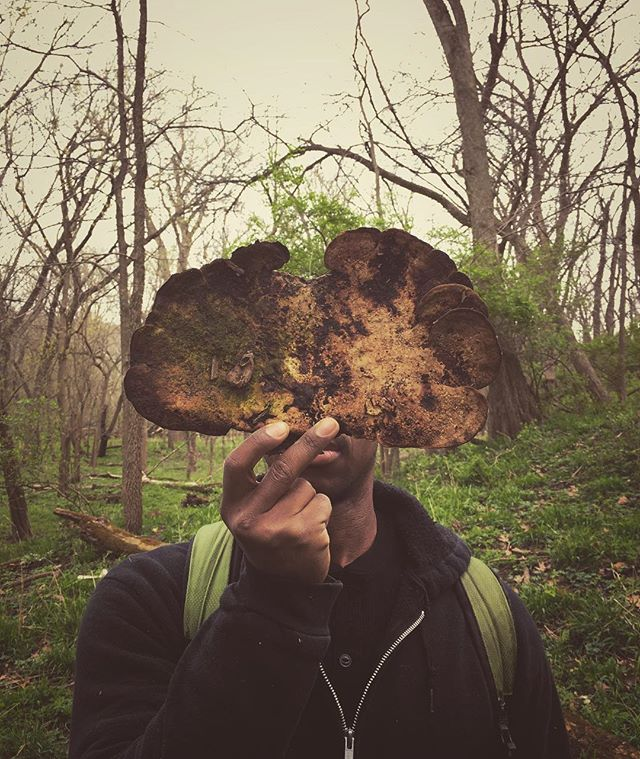 After longer than I care to mention being in wild places and making things, this man helped me get muddy again. I'm beyond grateful. #thegoodlife #mushroomface #getlost #getfound #wander #wonder #magic #seek #artmatters #livetheexaminedlife #agoodlifeisearned #fantastico #liveauthentic #midwest #trailing #wildstyle #getoutdoors #gratitude