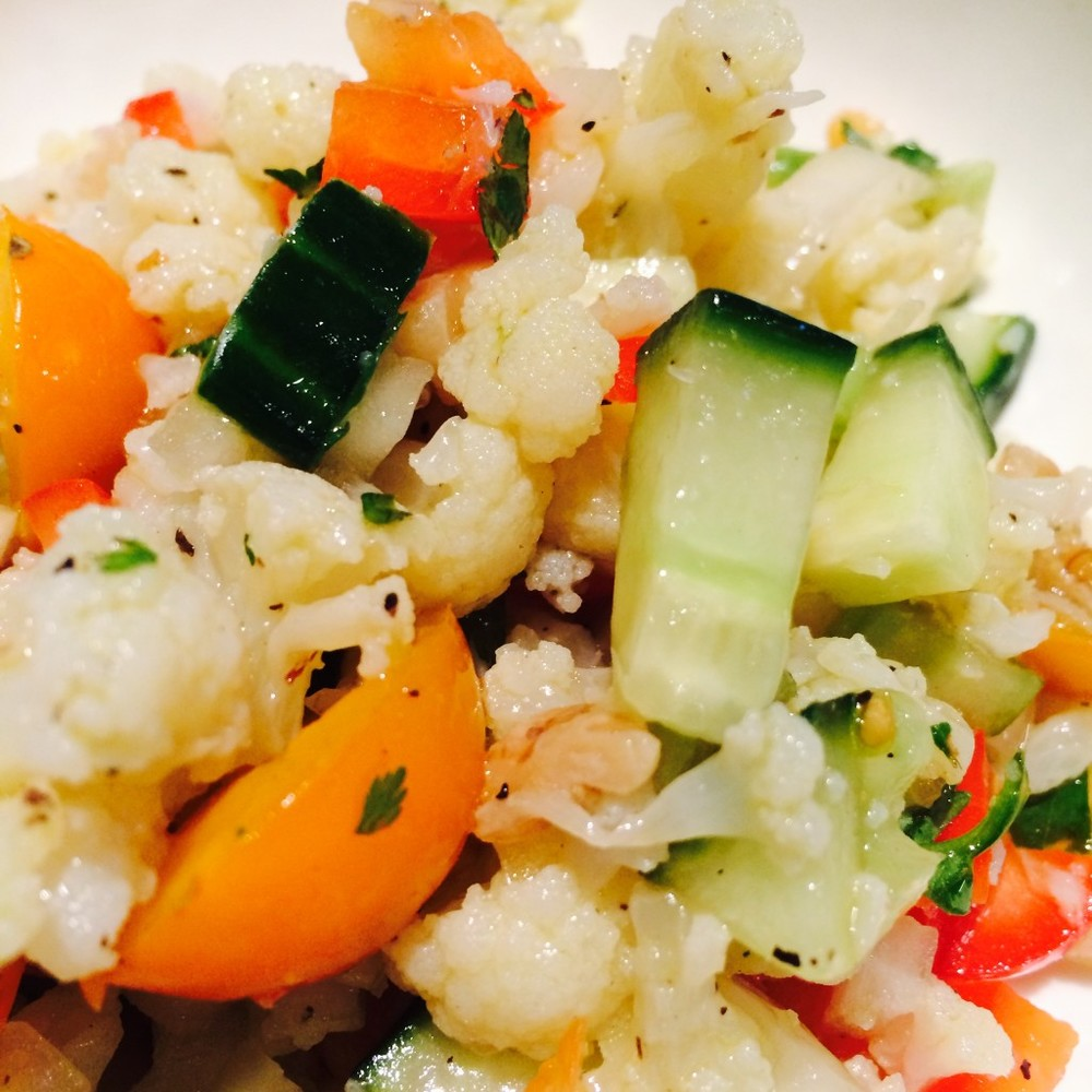 Cauliflower Rice Salad-2