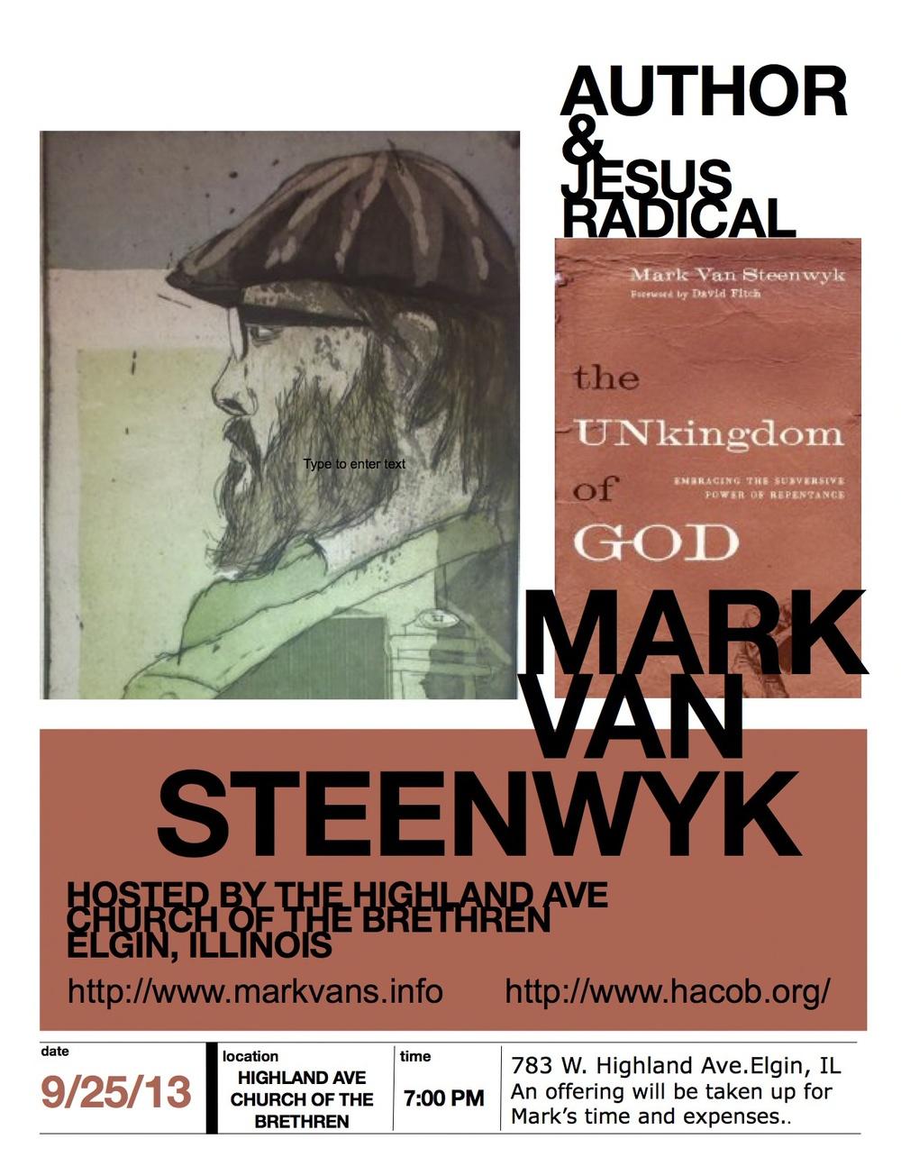 VanSteenwyk Poster