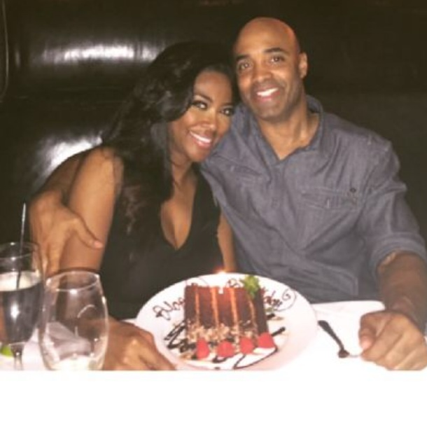 Kenya Moore and James