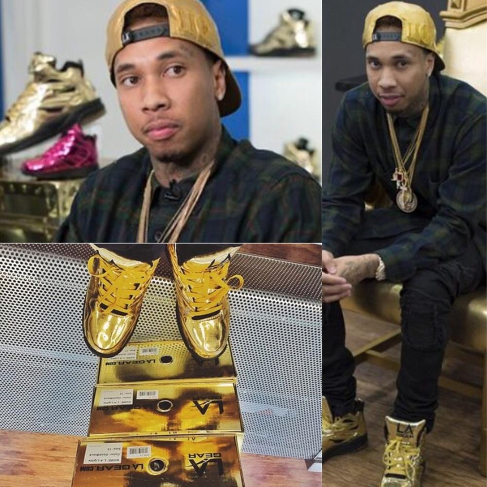 Tyga's Shoe Release