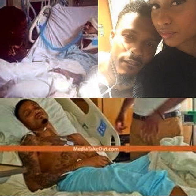 MediaTakeOut shares pic of Alsina in the hospital.