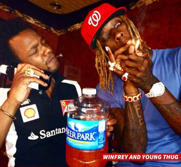 Winfrey and Thug