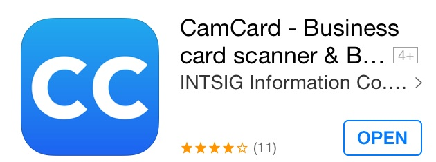 App of the week camcard the professional business card reader yo durttyzzz back with a must habe app of the week do you tend to lose business cards well no longer with the most powerful business card holder cam reheart Images