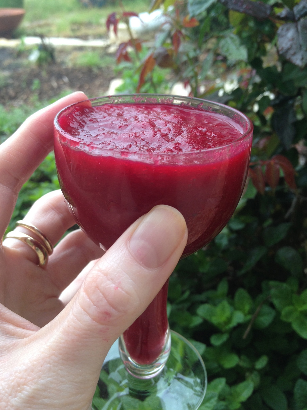 beet green smoothie