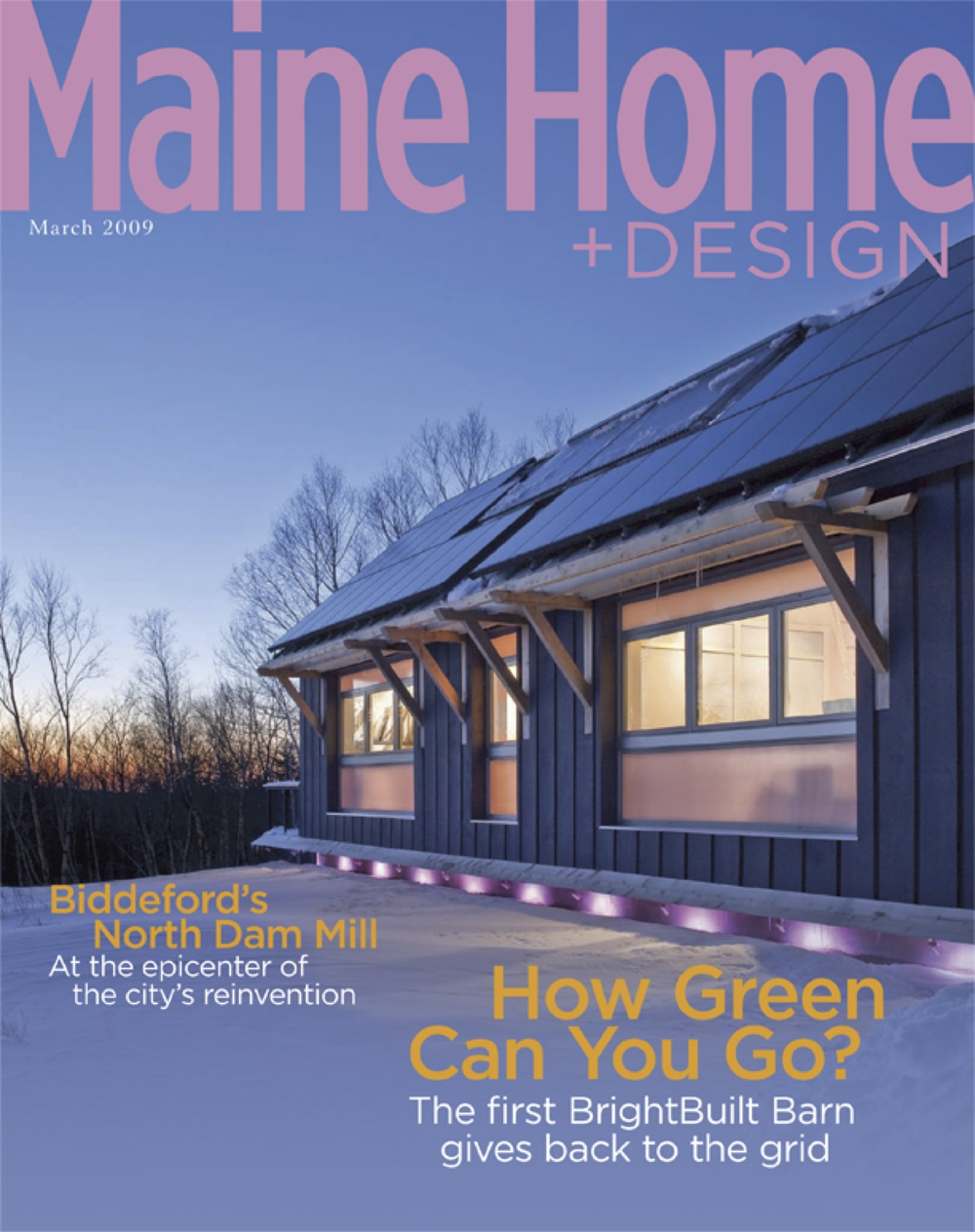 Maine Home + Design, March 2009
