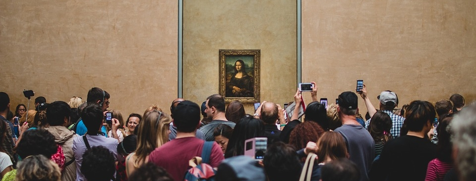 Mona Lisa at Musée du Louvre, Source: https://pixabay.com/p-863125/?no_redirect