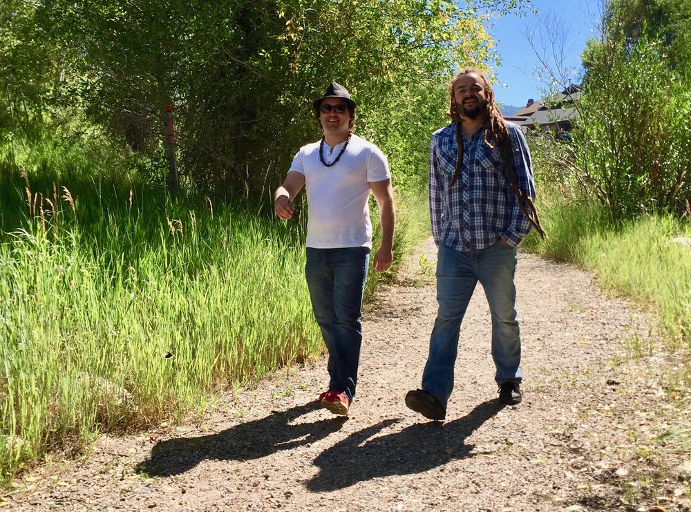 Rory McEntee and Adam Bucko in Steamboat Springs, CO. (N. Miles-Yépez, 2017),