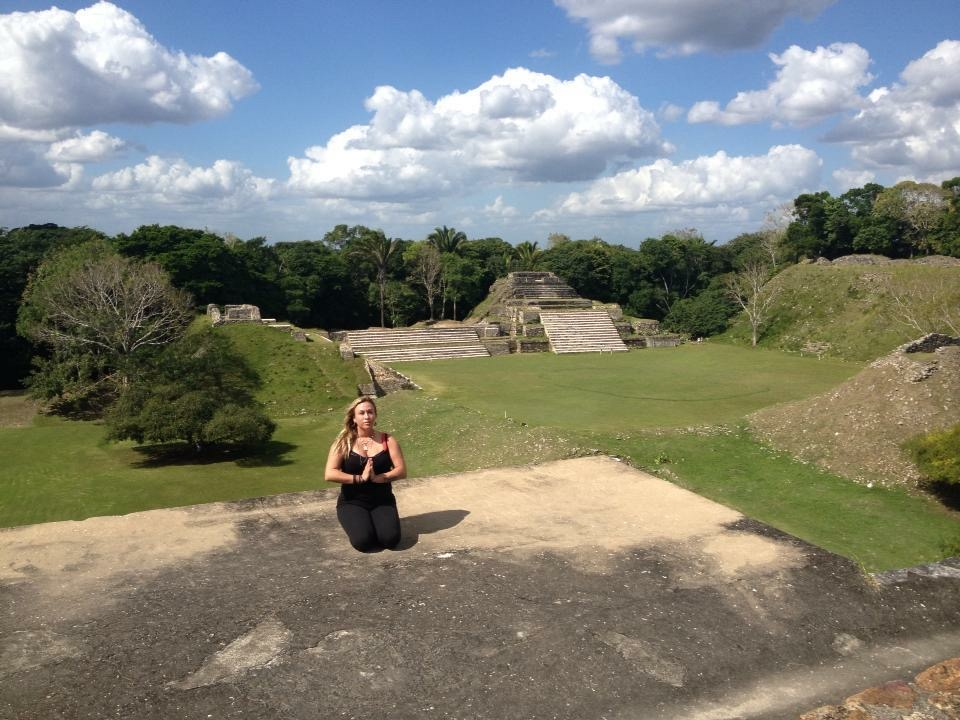 Healing Mayan Lineage & Sacred Feminine & Masculine  in Belize at the temples-2012