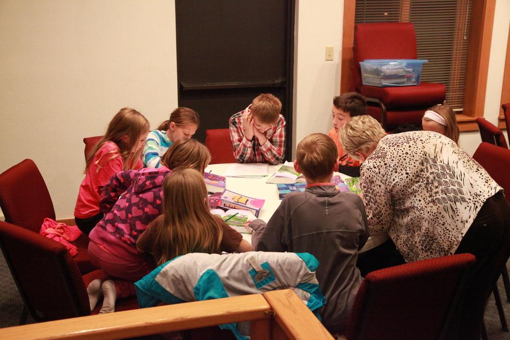LOGOS 4th - 6th Bible Study