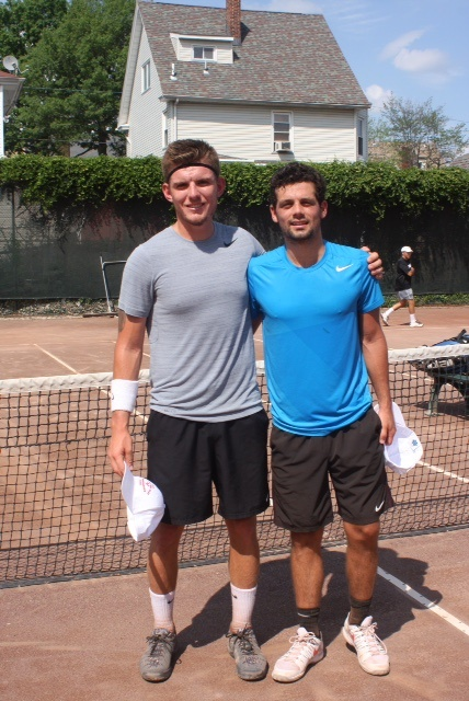 2015 Runner-Up, Brant Switzler (right) & Men's Open Champion, Alexandre Lacroix (left)