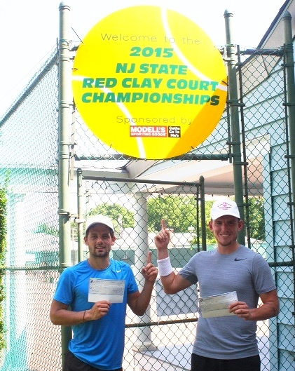 2015 Men's Open Champion, Alexandre Lacroix (left) & Runner-Up, Brant Switzler (right)