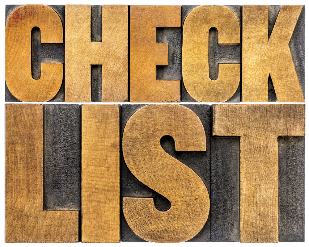 Download our helpful checklist