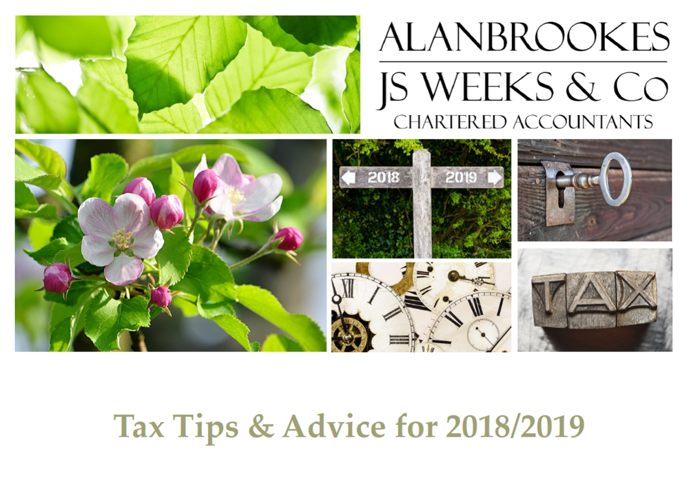 TAX TIPS & ADVICE 2018/2019
