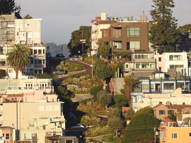 Lombard Street (Crookedest Street in the World)