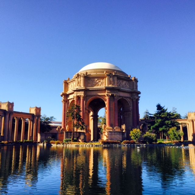 Palace of Fine Arts - Where San Francisco hosted the World's Fair in 1915