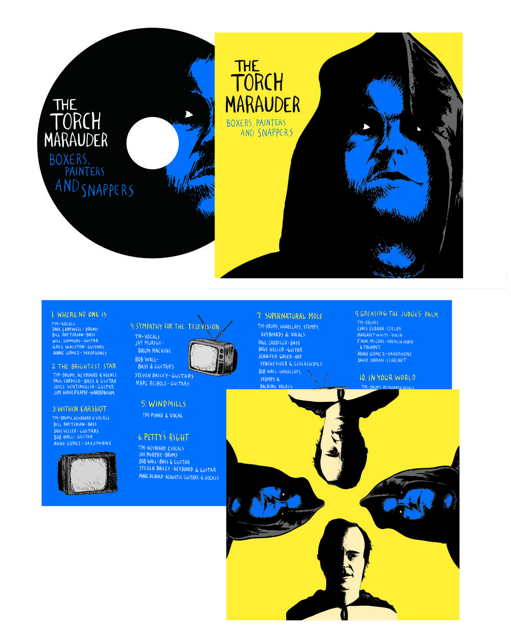 CD Package Design Client: Merge Records