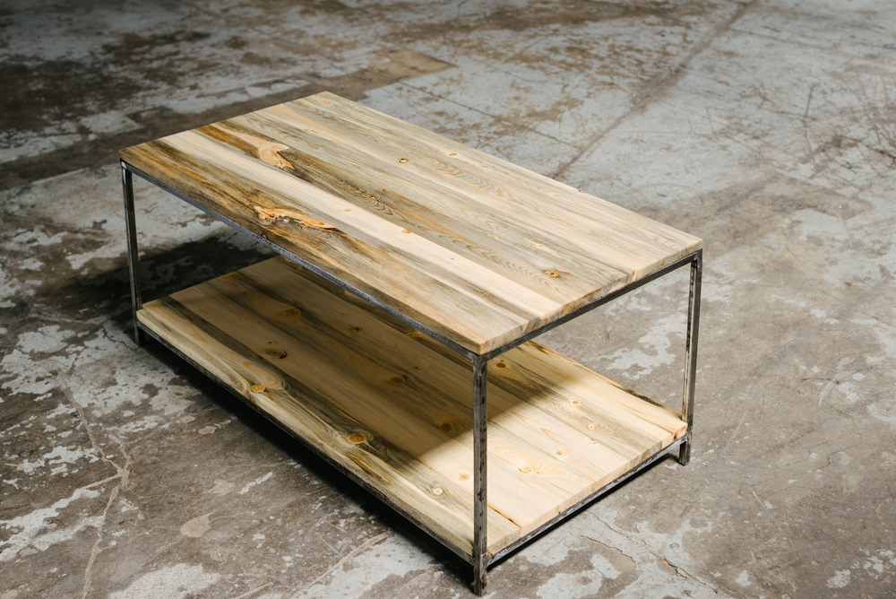 Beetle Kill Coffee Table
