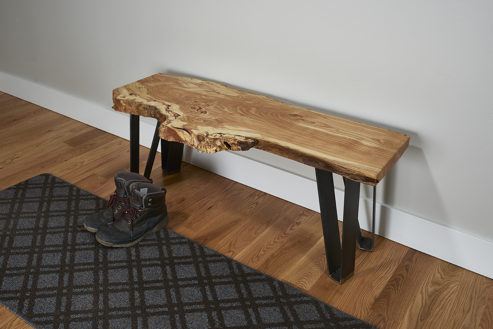 The Burl Bench