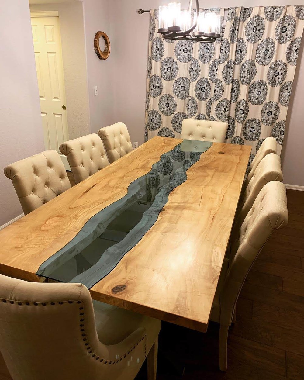 Salvaged Maple Dining Table