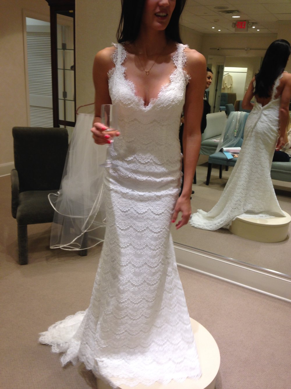 Wedding Dress Brunette Brigade