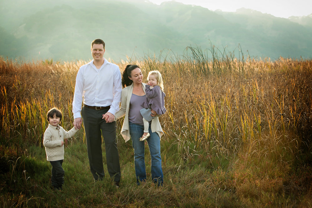 Paulas family - Beckett, danny, ananda (pregnant with #3) & scarlett. by Kevallyn marie photography.