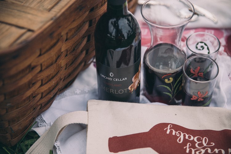 Orchid Cellar Meadery and Winery Merlot Picnic