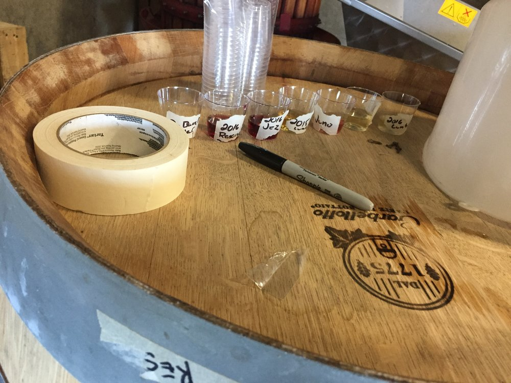 Mead Barrel Tasting