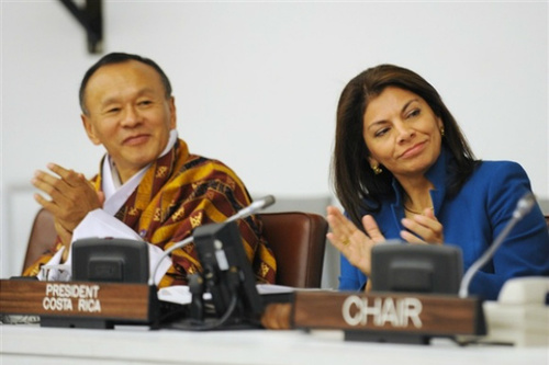 First ever UN conference on Happiness and wellbeing