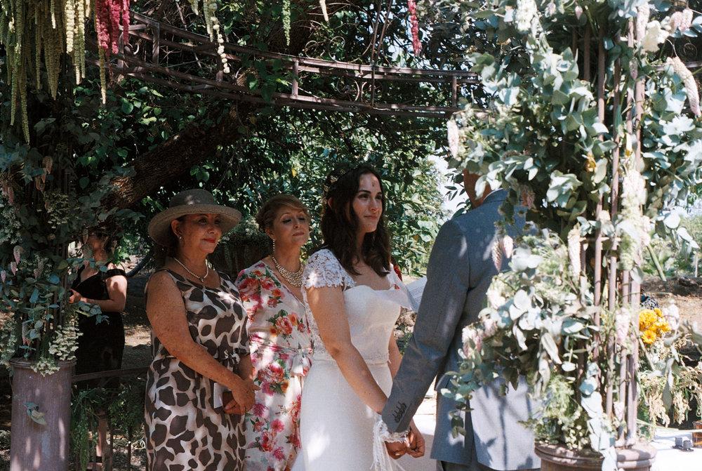 Lores und Jorges Hochzeit